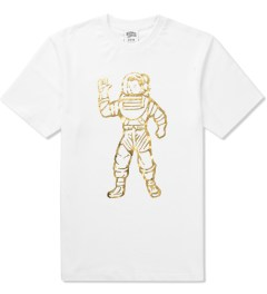 Billionaire Boys Club White/Gold S/S Full Astronaut T-Shirt Picture