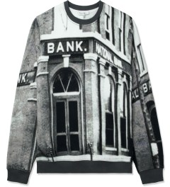 Carven Bank Print Crewneck Sweater Picture