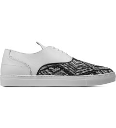 Filling Pieces TSA Woven White New Era Sneakers Picutre