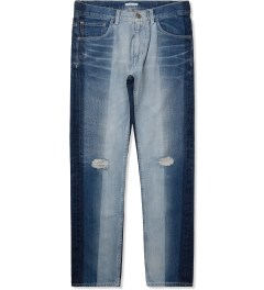 FACETASM Indigo Gradation Denim Pants Picture