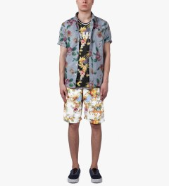 Acapulco Gold White Palm Springs Basketball Shorts Model Picture