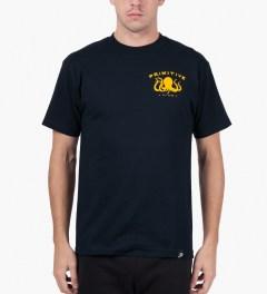 Primitive Navy Salty T-Shirt Model Picutre
