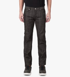 A.P.C. Black Petit Standard Jeans Model Picture