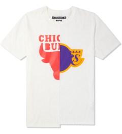 Saquatchfabrix. White/White Rival T-Shirt Picture