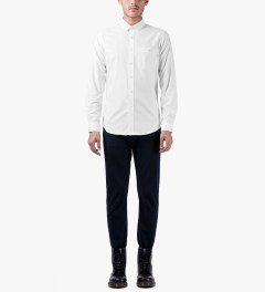 Patrik Ervell White Oxford Shirt Model Picutre