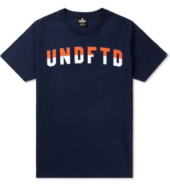Undefeated Navy Two Tone T-Shirt Picutre