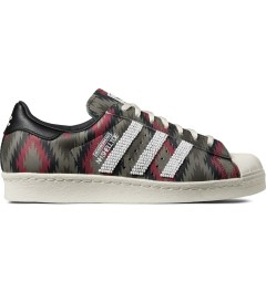 adidas Originals NEIGHBORHOOD x adidas Originals Beige/Red NH Shelltoe Shoes Picture