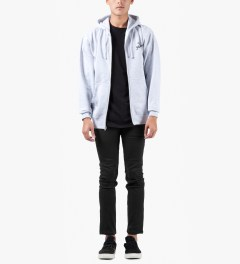 The Hundreds Black Temple Skinny Fit Denim Jeans Model Picture