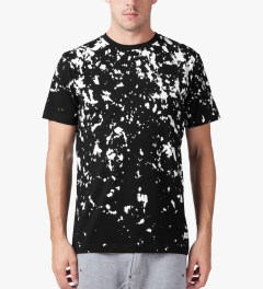 Stampd Black Painter T-Shirt Model Picutre