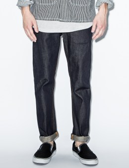 Nudie Jeans Blue Tube Tom Gloom Denim Jeans Picture