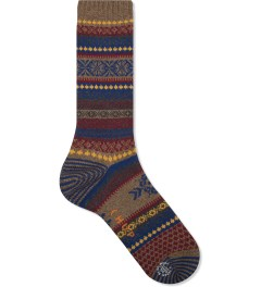 CHUP Brown Realta Sock Picutre