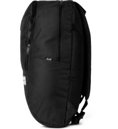Herschel Supply Co. Black/Black Rubber Nelson Backpack Model Picutre