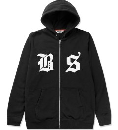 Undefeated Black BS Zip Hoodie Picutre