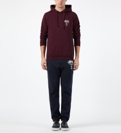 Stussy Wine World Tour Hoodie Model Picture