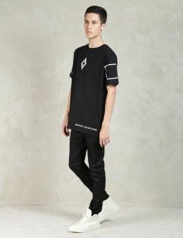 MARCELO BURLON Black Onas T-Shirt Picture