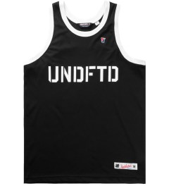 Undefeated Black 00 Mesh Tank Top Picutre