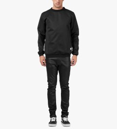Libertine-Libertine Black on Black VS Mogwai Crewneck Sweater Model Picutre