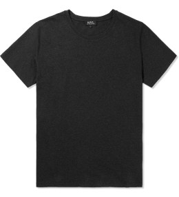 A.P.C. Charcoal Liverpool T-Shirt Picture