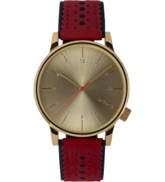 KOMONO Red Jazz Winston Brogue Watch Picture