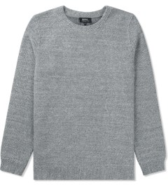 A.P.C. Dark Blue Sweat Basic Sweater Picutre