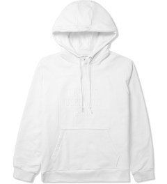 Opening Ceremony White 3D Logo Hoodie Picutre