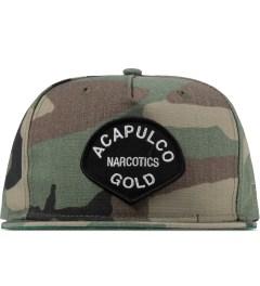 Acapulco Gold Camo AG Narcotics Snapback Cap Picutre