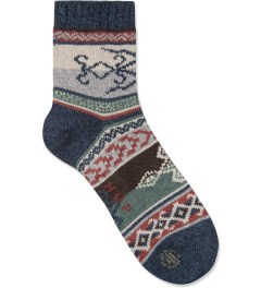 CHUP Navy Blue Rela Socks Picture