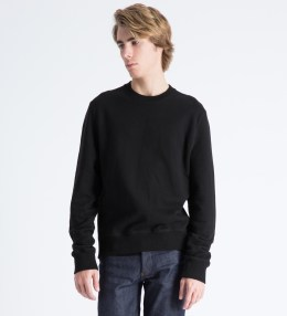 Surface to Air Black Classic Crewneck Sweater Picture