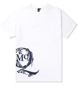 McQ by Alexander McQueen Optic White New Logo S/S Crewneck T-Shirt Picture
