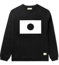 Libertine-Libertine Black/White Grill Moon Sweatshirt Picture