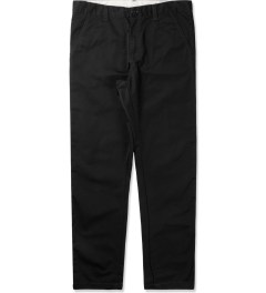 Carhartt WORK IN PROGRESS Black Dander Pants Picutre