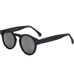 KOMONO BLACK RUBBER CARL ZEISS CLEMENT SUNGLASSES Model Picture