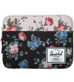 Herschel Supply Co. Black Floral/Pink Floral Anchor Sleeve for iPad Air Picture