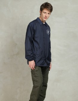 HUF Navy Huf USA Coaches Jacket Picture