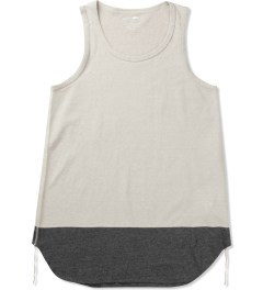 CASH CA Grey Panel Color Tank Top Picture
