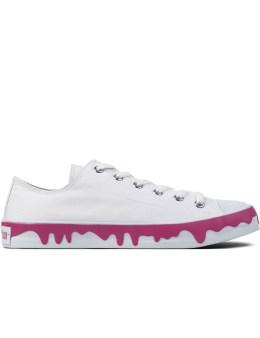 ICECREAM White Drippy Sneakers Picture