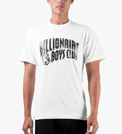 Billionaire Boys Club White S/S Classic Arch T-Shirt Model Picutre