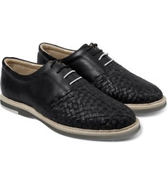 Thorocraft Black Ross Shoes Model Picutre