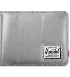 Herschel Supply Co. Silver/Red Roy 3M Wallet Picutre