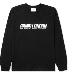 Grind London Black Grind London L/S T-Shirt Picture