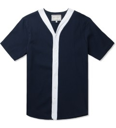 Still Good Navy/White Avant-Grade 4 Baseball Shirt Picutre