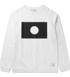 Libertine-Libertine White/Black Grill Moon Sweatshirt Picutre