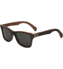 Shwood Grey Polarized Canby Salvadge Ports of Portland Model Picutre