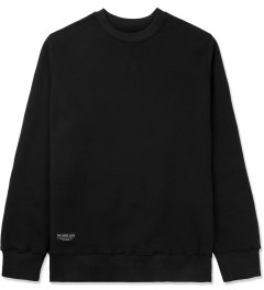 The Quiet Life Black Professor Paisley Patch Crewneck Sweater Picture