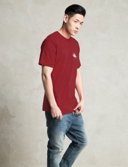 Stussy Red Basic Logo T-Shirt Picture