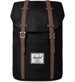 Herschel Supply Co. Black Retreat Backpack Picutre