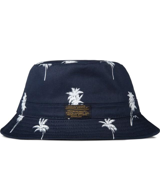 Navy Palm Thompson Fisherman Bucket Hat