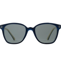 KOMONO Navy Cream Renee Sunglasses Picutre