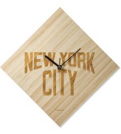 SECOND LAB Natural NYC Laser Clock Picture
