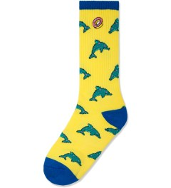 Odd Future Yellow Dolphin Donut Socks Picture